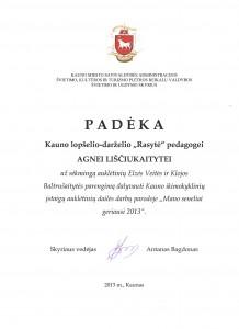 Agnės diplomas
